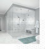 Combien coûte l'installation d'une porte de douche ?
